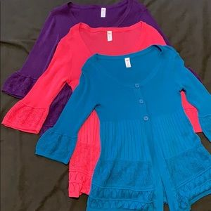 Justice 16 18 Cardigans Sweaters
